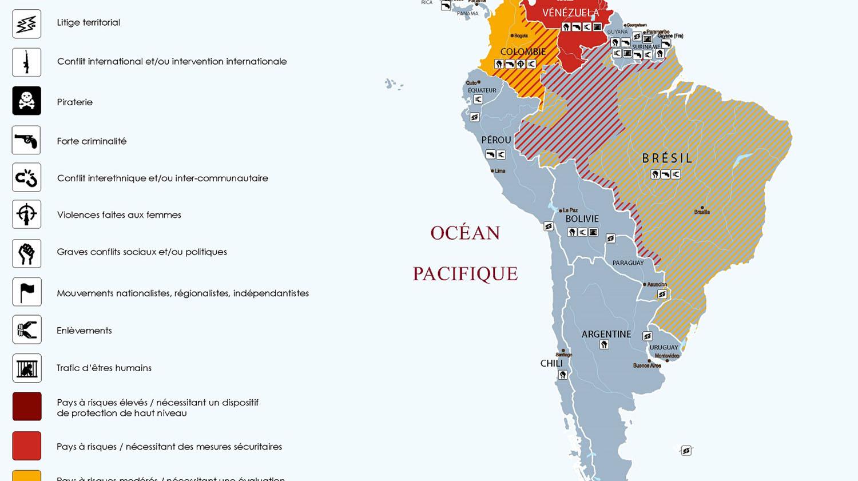 Zone Amérique Latine et centrale